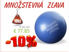 THERA-BAND OVERBALL / PILATES BALL 22 cm, modrá - 10ks