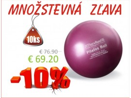 THERA-BAND OVERBALL / PILATES BALL 18 cm, červená -10ks