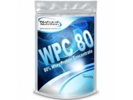 Natural Nutrition Proteín WPC 80, 1000g