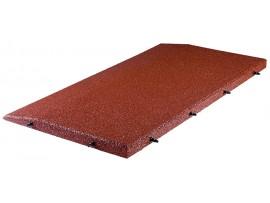 Okraj gumovej podlahy SBR - 4cm