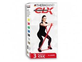 Thera-Band CLX červený - stredne silný